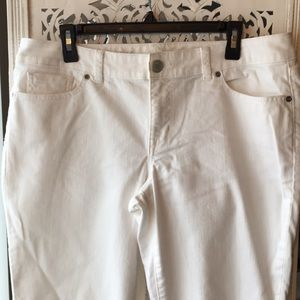 The Limited White Jeans Size 14